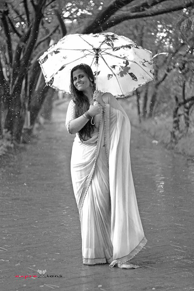Enjoying the rain by Exprezzions Wedding-photography | Weddings Photos & Ideas
