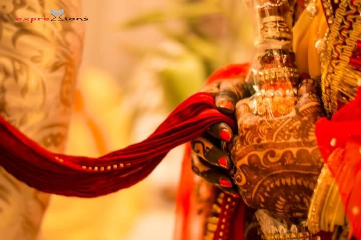 Bride and Groom following the wedding rituals by Exprezzions Wedding-photography | Weddings Photos & Ideas