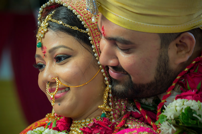 A stunning potrait of the two love birds by Rahul Vadhs Photography Wedding-photography | Weddings Photos & Ideas