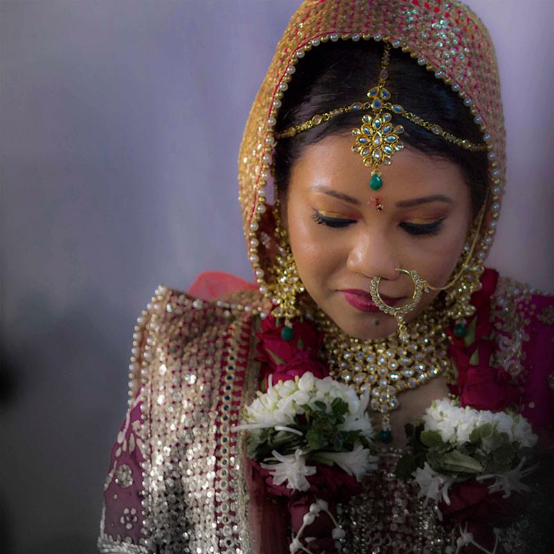 A splendid photograph of the beautiful bride by Rahul Vadhs Photography Wedding-photography | Weddings Photos & Ideas