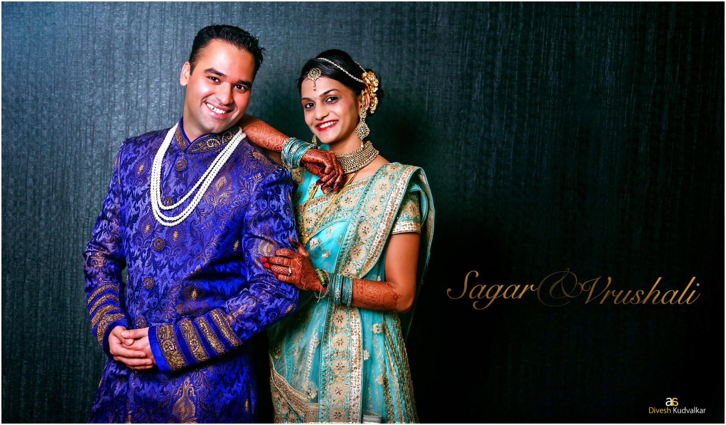 A well dressed Indian couple posing by Arya Arts Wedding-photography | Weddings Photos & Ideas