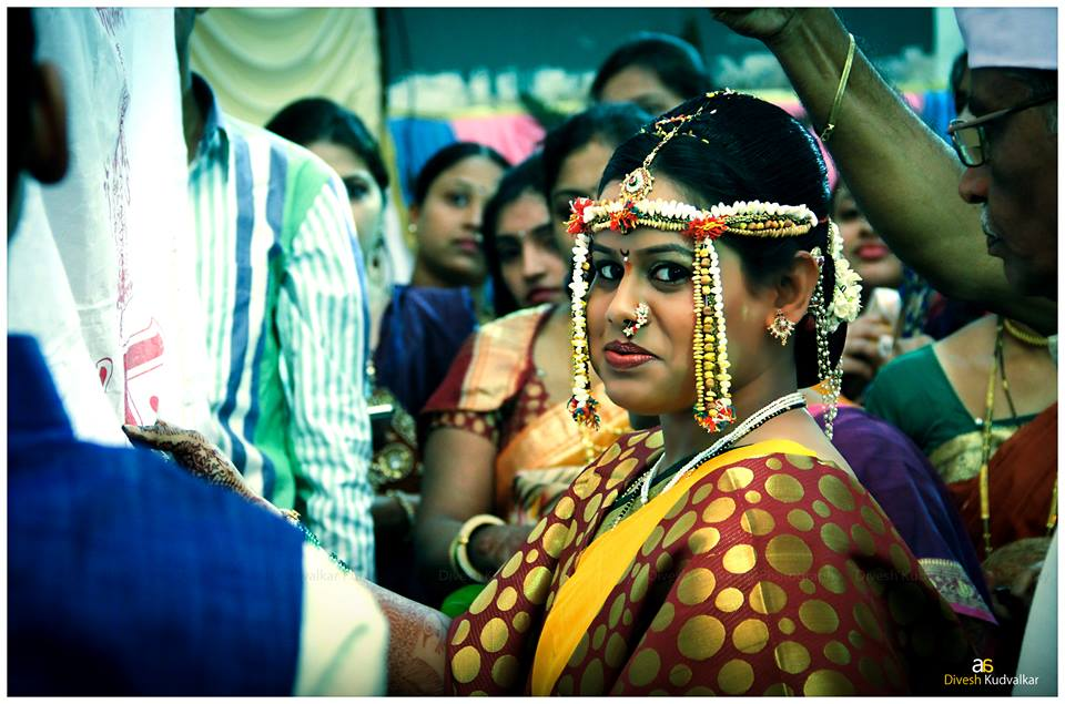 The bride with an innocent expression by Arya Arts Wedding-photography | Weddings Photos & Ideas