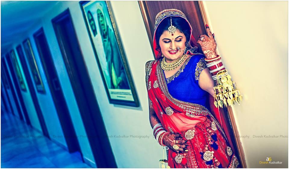 Glowing bride striking a pose by Arya Arts Wedding-photography | Weddings Photos & Ideas