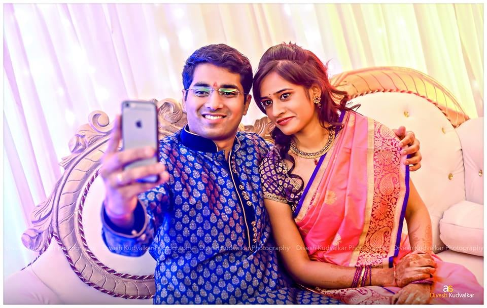 The  charming couple loving the selfies by Arya Arts Wedding-photography | Weddings Photos & Ideas