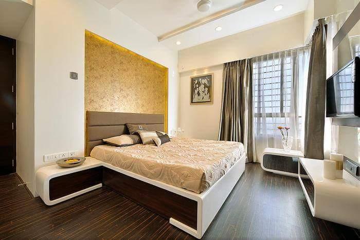 A stunning bedroom! by Makan interiors & decorators Bedroom | Interior Design Photos & Ideas