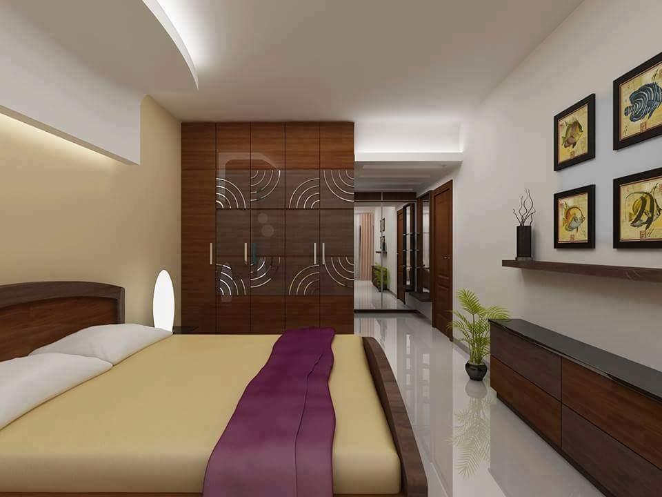 An attractive bedroom! by Makan interiors & decorators Bedroom | Interior Design Photos & Ideas