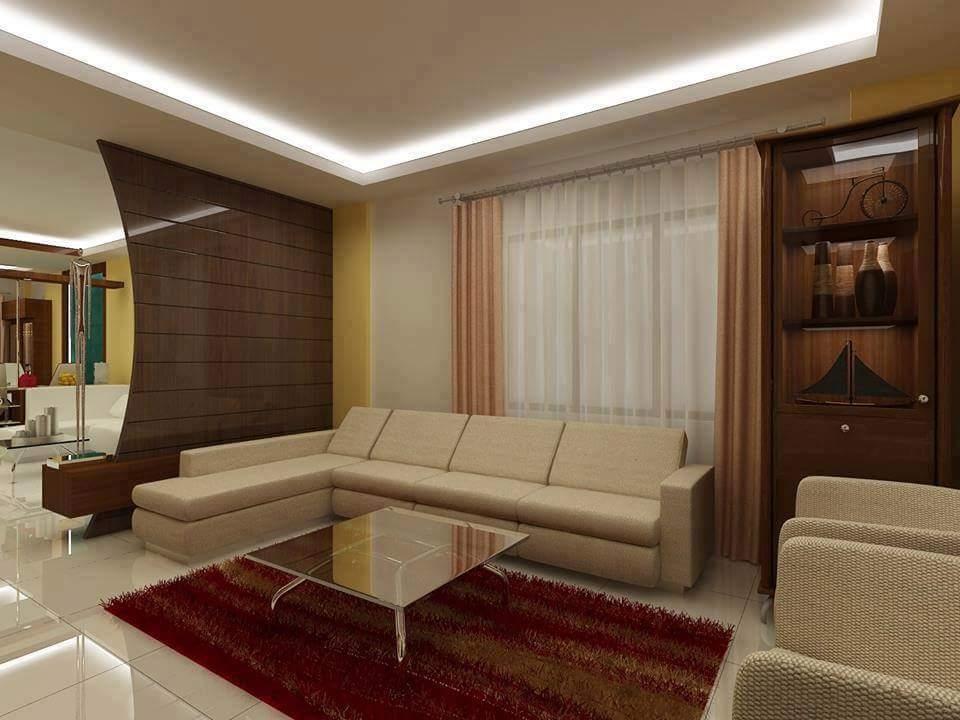 A living room! by Makan interiors & decorators Living-room | Interior Design Photos & Ideas