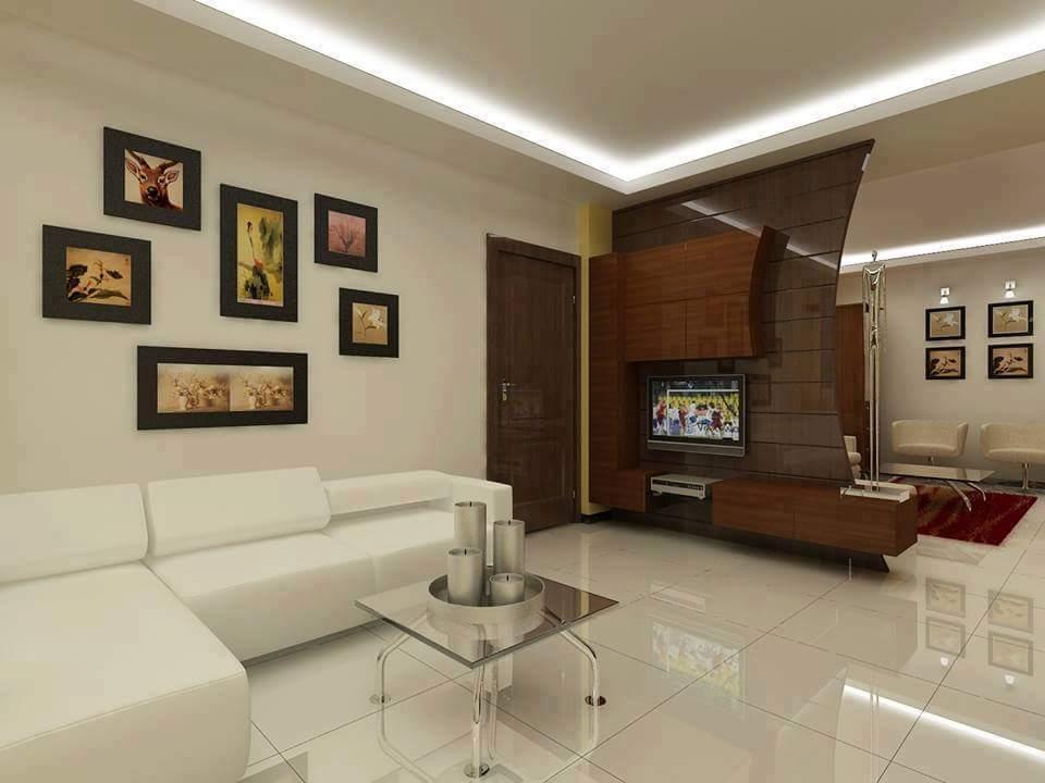 A stunning  modern living room! by Makan interiors & decorators Living-room | Interior Design Photos & Ideas