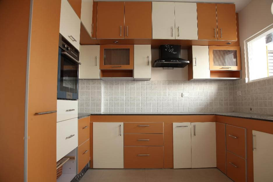 U-Shaped Modular Kitchen by Urban Geometry  Modular-kitchen Contemporary | Interior Design Photos & Ideas