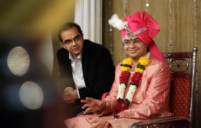 Candid Groom Shot by Karan Meghnani Photography Wedding-photography | Weddings Photos & Ideas