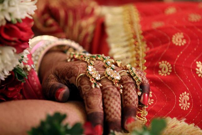 Bride Hand Shot by Karan Meghnani Photography Wedding-photography | Weddings Photos & Ideas