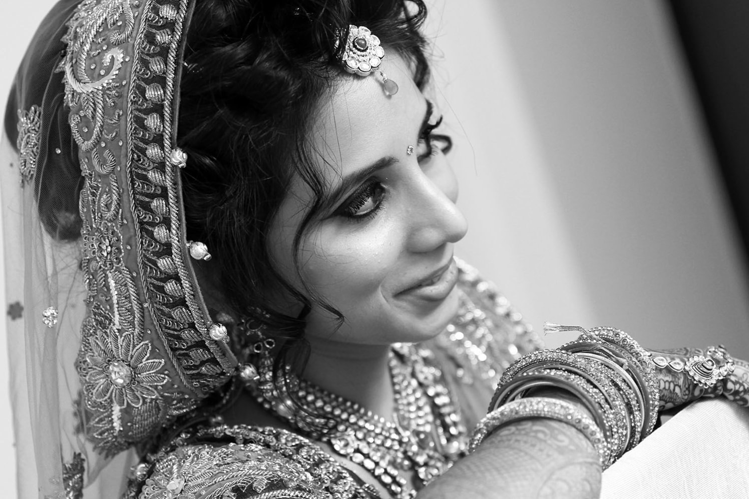 Bride Portrait Shot by Karan Meghnani Photography Wedding-photography | Weddings Photos & Ideas