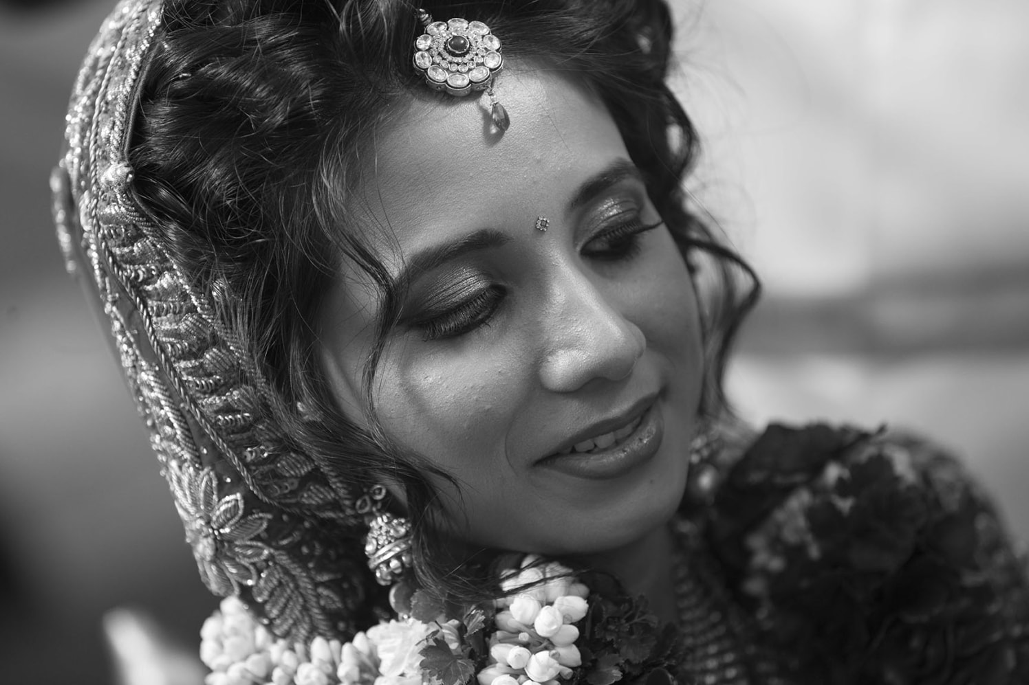 Bride Portrait Shot by Karan Meghnani Photography Wedding-photography | Weddings Photos & Ideas