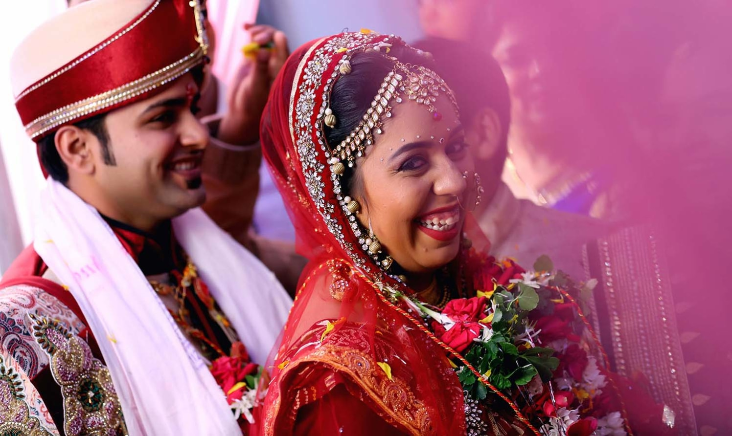 Happy Bride Shot by Karan Meghnani Photography Wedding-photography | Weddings Photos & Ideas