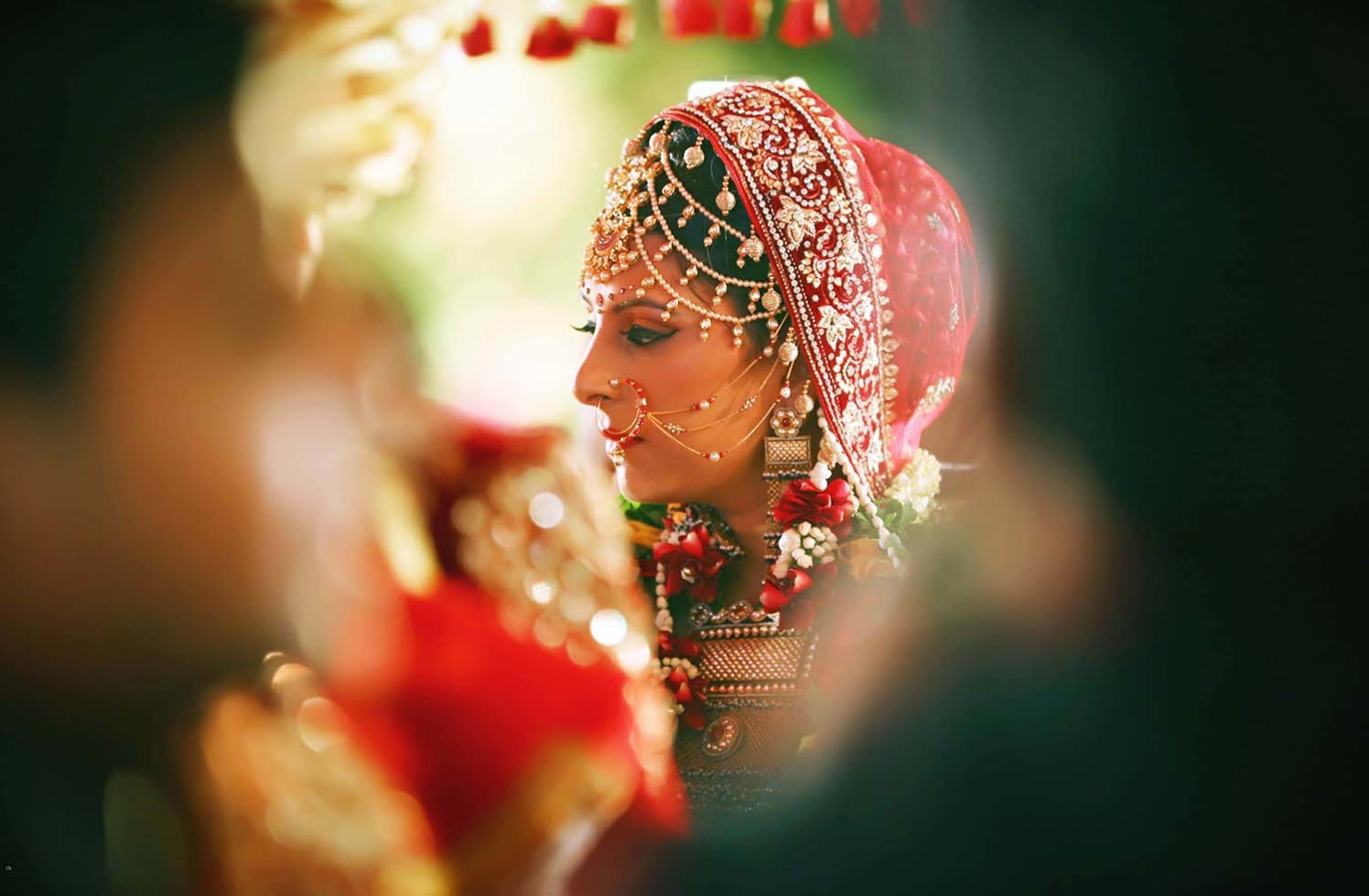 Candid Bride Shot by Karan Meghnani Photography Wedding-photography | Weddings Photos & Ideas