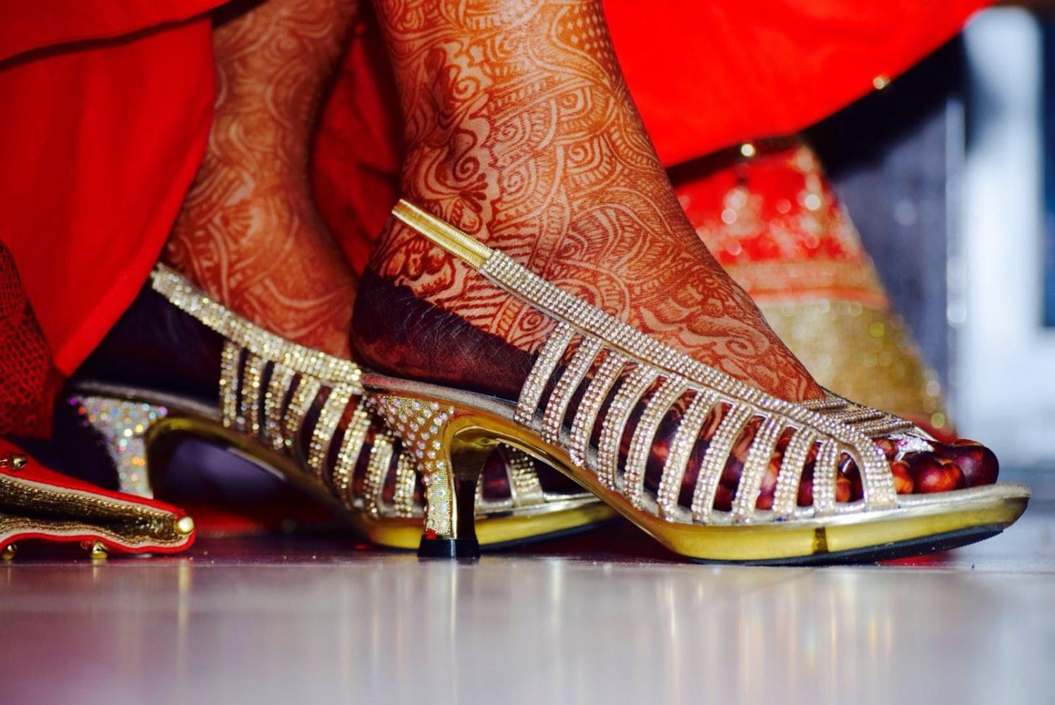 Bride Footwear Shot by Krishna Photography Wedding-photography | Weddings Photos & Ideas