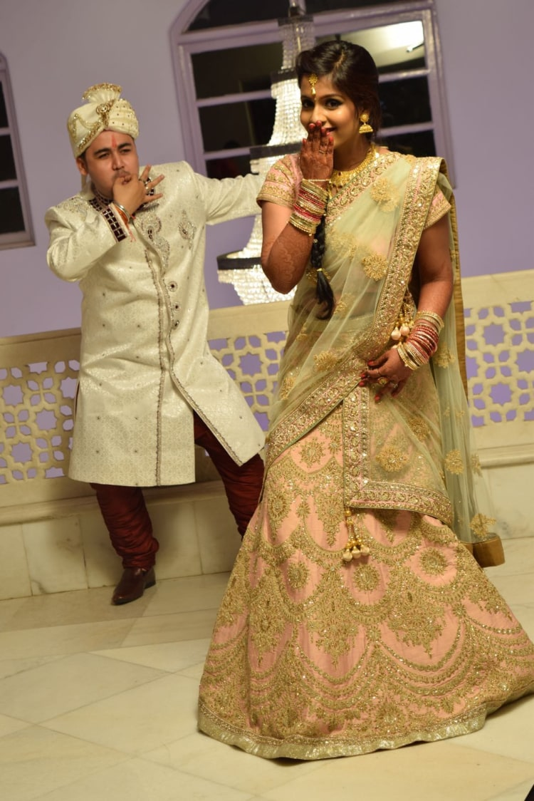 Fun Bride and Groom Shot by Krishna Photography Wedding-photography | Weddings Photos & Ideas