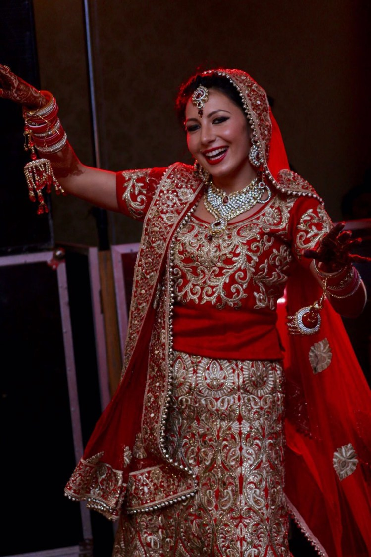 Fun Bride Pose by Krishna Photography Wedding-photography | Weddings Photos & Ideas