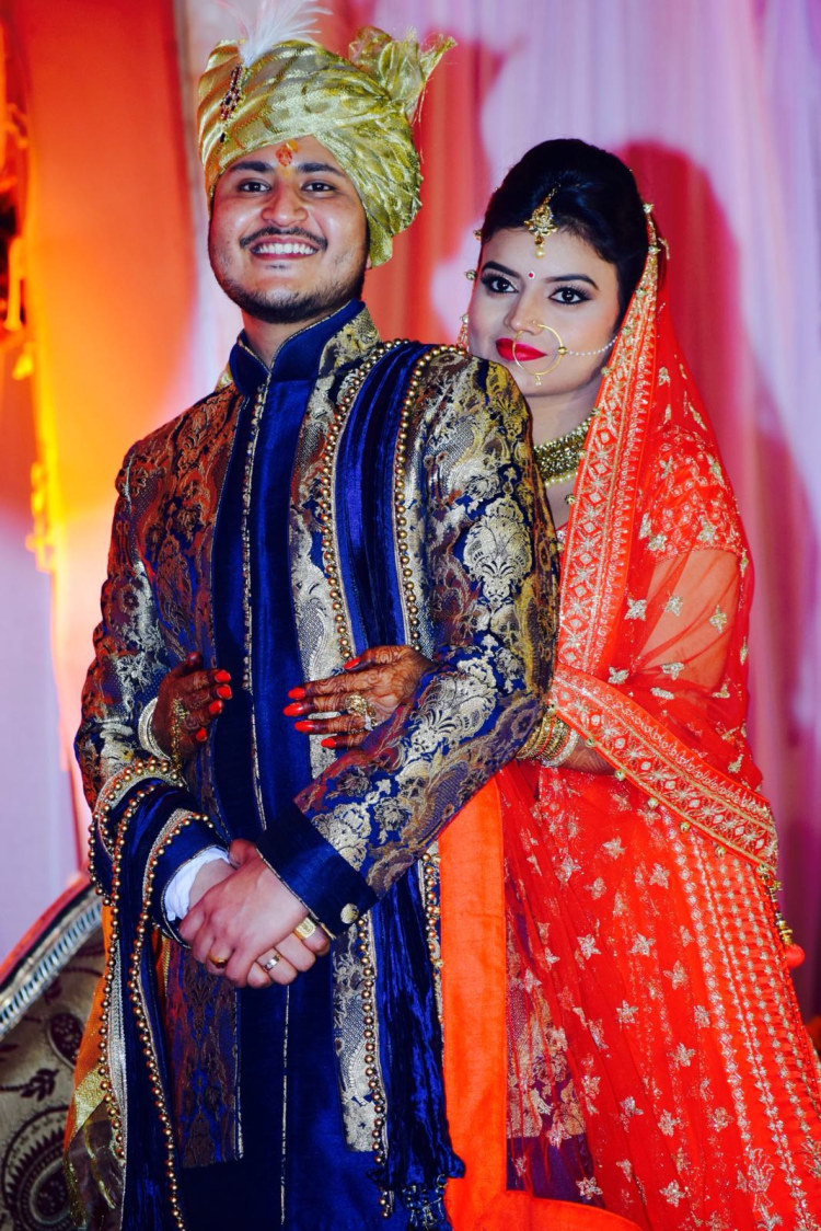 Bride and Groom Portrait by Krishna Photography Wedding-photography | Weddings Photos & Ideas