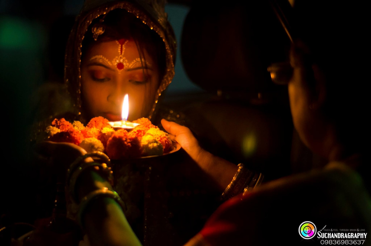 Aarti shot! by Suchandragraphy  Wedding-photography | Weddings Photos & Ideas