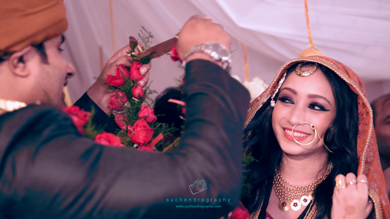 Garland ceremony! by Suchandragraphy  Wedding-photography | Weddings Photos & Ideas