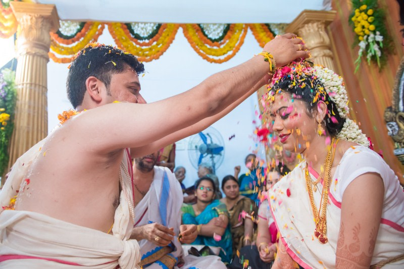 Flower shower! by Suchandragraphy  Wedding-photography   Weddings Photos & Ideas