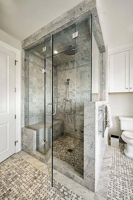 Stonewalled Compact Bathroom by Vikram Gorur Bathroom Contemporary | Interior Design Photos & Ideas