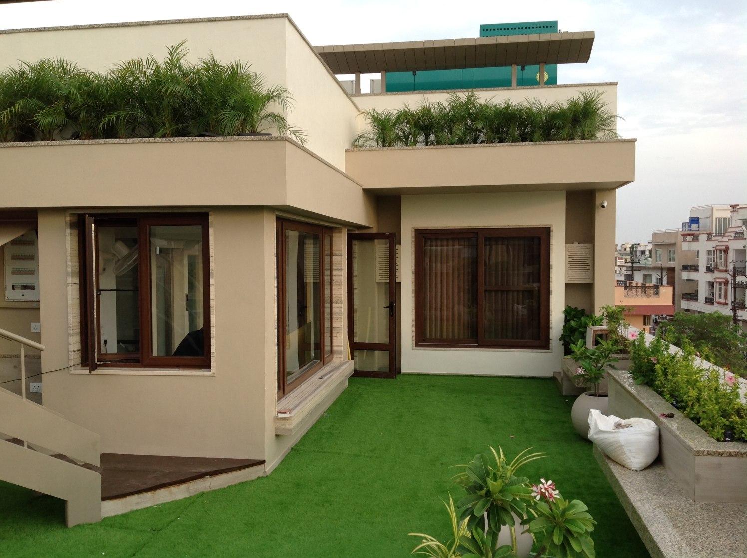 Modern Open Terrace Garden by MDA PVT LTD on Open Backyard Ideas id=96074
