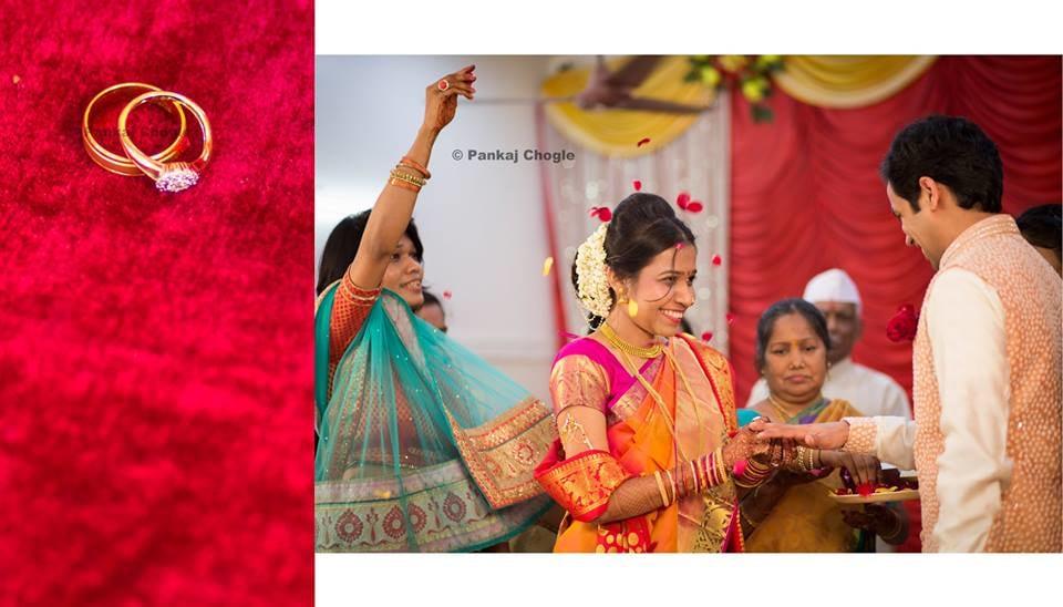 Engagement of a marathi couple by Pankaj Chogle Wedding-photography   Weddings Photos & Ideas
