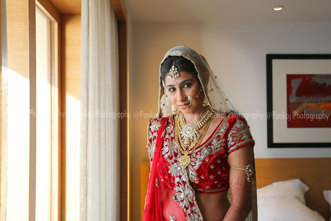 Crimson bridal wear! by Pankaj Chogle Wedding-photography | Weddings Photos & Ideas