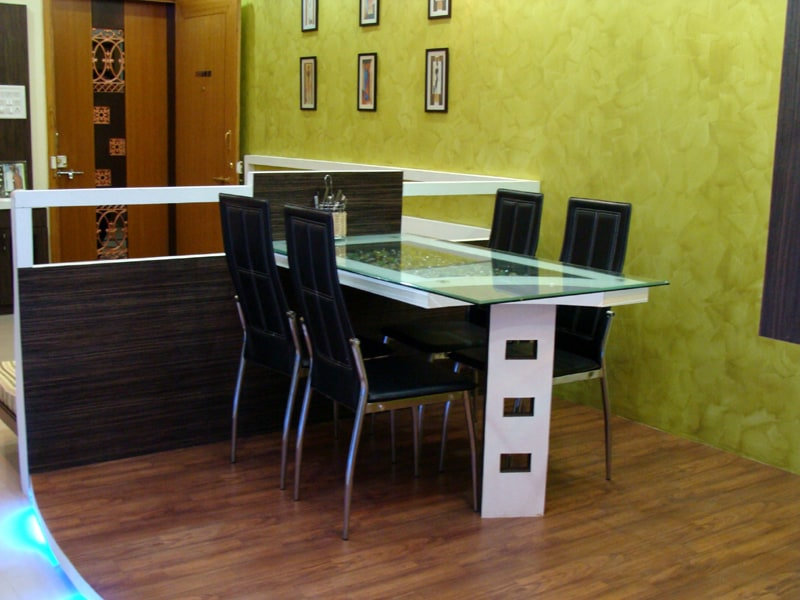 Modern Dining Table by aashish Shrotri  Dining-room Contemporary   Interior Design Photos & Ideas