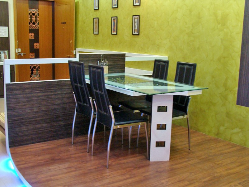Modern Dining Table by aashish Shrotri  Dining-room Contemporary | Interior Design Photos & Ideas