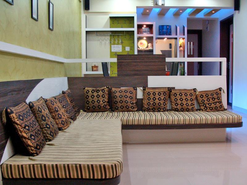 Contemporary Living Room by aashish Shrotri  Living-room Contemporary | Interior Design Photos & Ideas