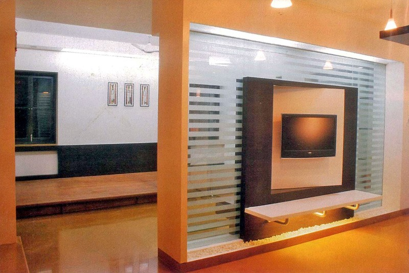 Modern TV Display by aashish Shrotri  Living-room Modern | Interior Design Photos & Ideas
