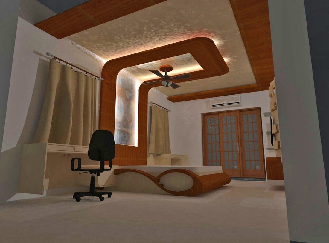 Modern Bedroom by aashish Shrotri  Bedroom Contemporary | Interior Design Photos & Ideas
