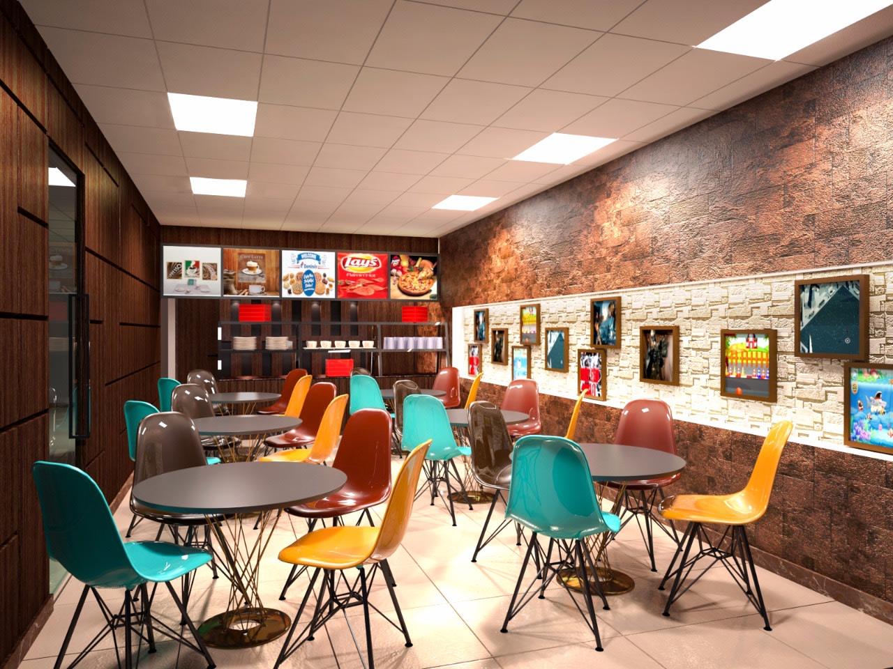 Cafe Interior Styles by Abhinav Gupta Contemporary | Interior Design Photos & Ideas
