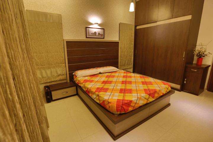 Budget Modern Bedroom with Wooden Decor by A+De Spectrum Bedroom Minimalistic | Interior Design Photos & Ideas