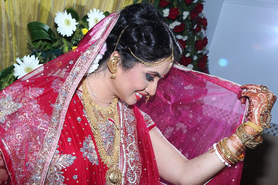 Beautiful bride wearing regal jewellery! by BACKDROP Wedding-photography | Weddings Photos & Ideas