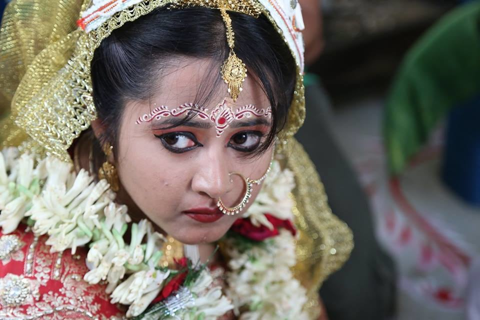 A stunning bengali bride on her wedding day! by BACKDROP Wedding-photography | Weddings Photos & Ideas