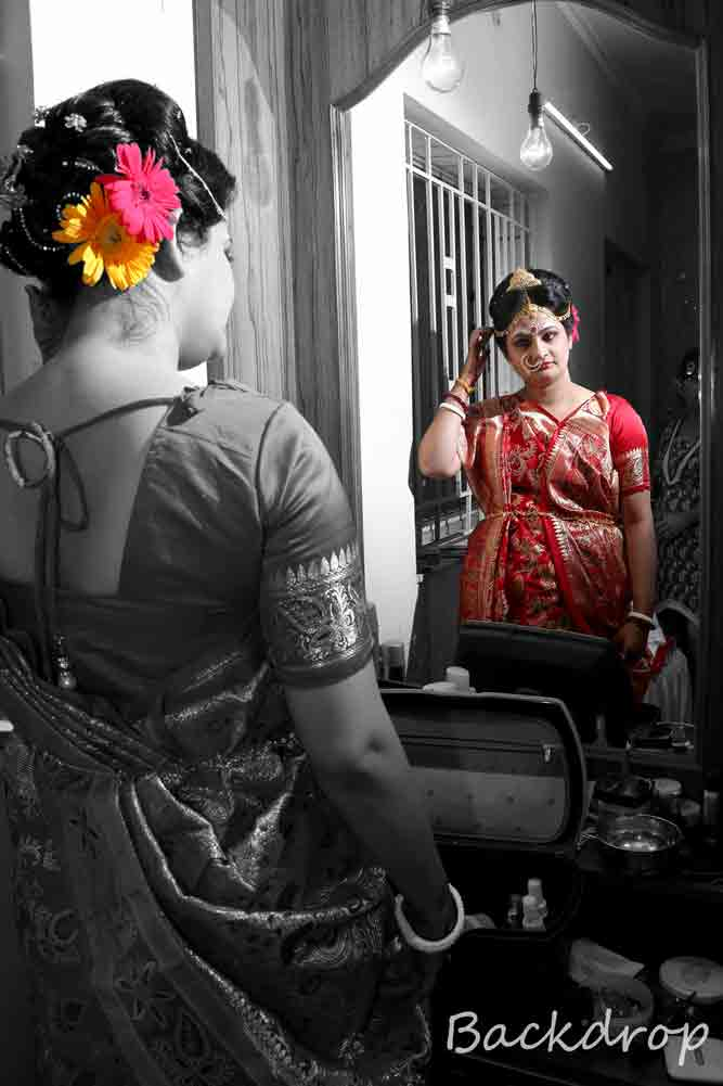 A beautiful bride getting ready! by BACKDROP Wedding-photography | Weddings Photos & Ideas