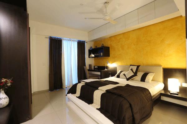 Brightly light king sized bedroom by Studio de ismation  Bedroom Contemporary | Interior Design Photos & Ideas
