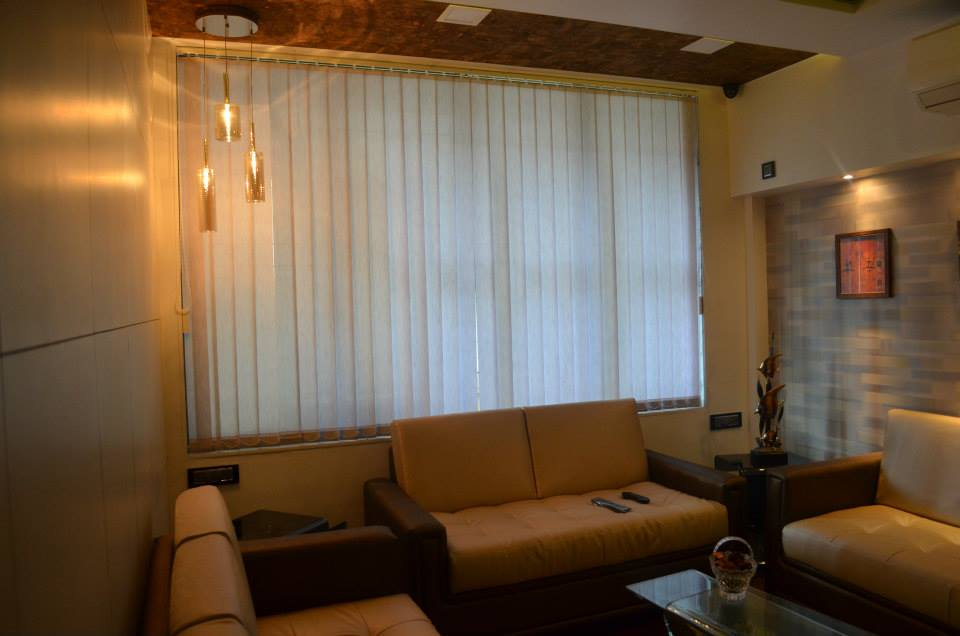 Living Room With Bulky Furniture by Ar. Sachin Vasant Salvi  Living-room Contemporary | Interior Design Photos & Ideas