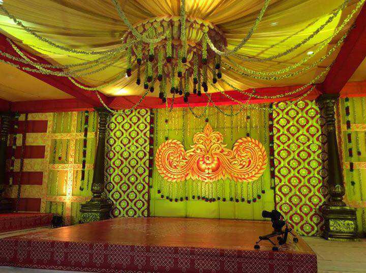 Reception Day Stage Decor by Myko production photographs  Wedding-photography | Weddings Photos & Ideas