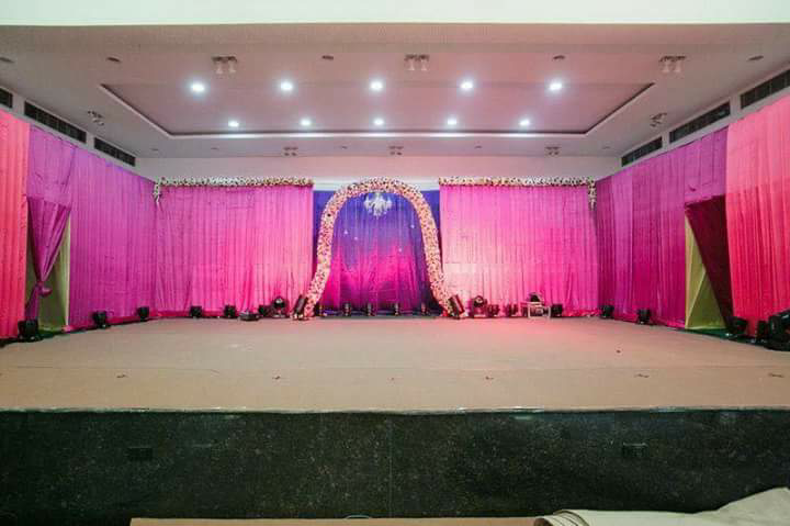 Reception Day Stage Decor by Myko production photographs  Wedding-photography   Weddings Photos & Ideas