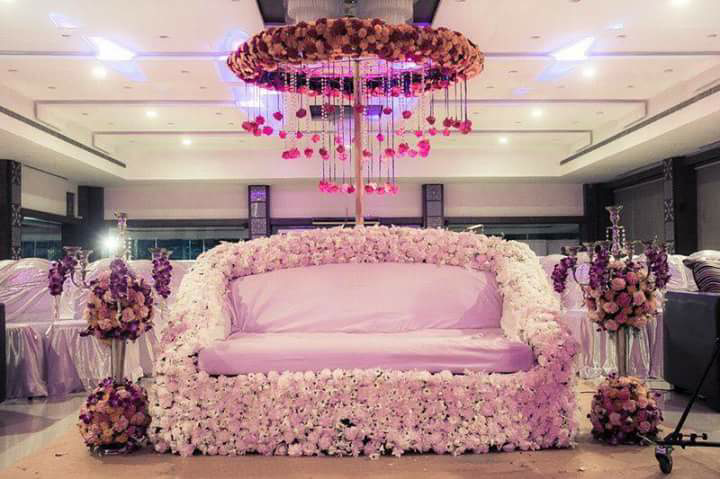 Bride and Groom Seating Decor by Myko production photographs  Wedding-photography | Weddings Photos & Ideas