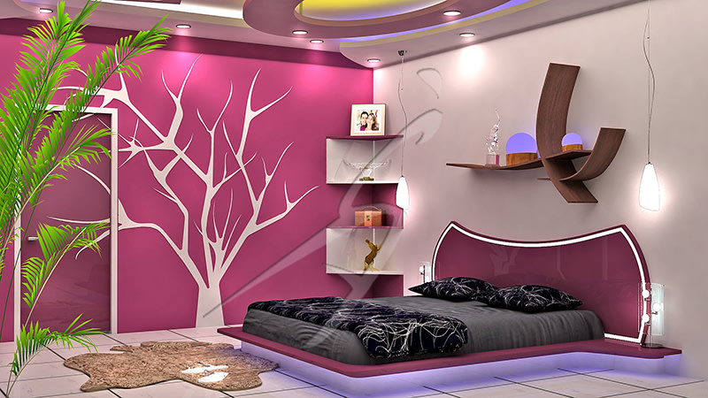 A modern bedroom! by Pegasus Interiors  Bedroom | Interior Design Photos & Ideas