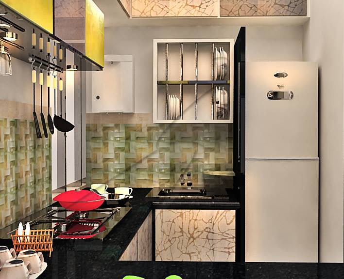 A modular kitchen! by Pegasus Interiors  Modular-kitchen | Interior Design Photos & Ideas