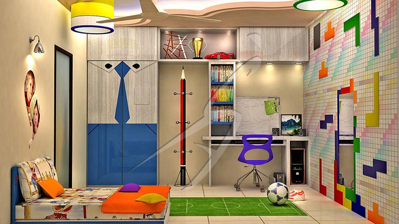 Kid's room! by Pegasus Interiors  Bedroom | Interior Design Photos & Ideas