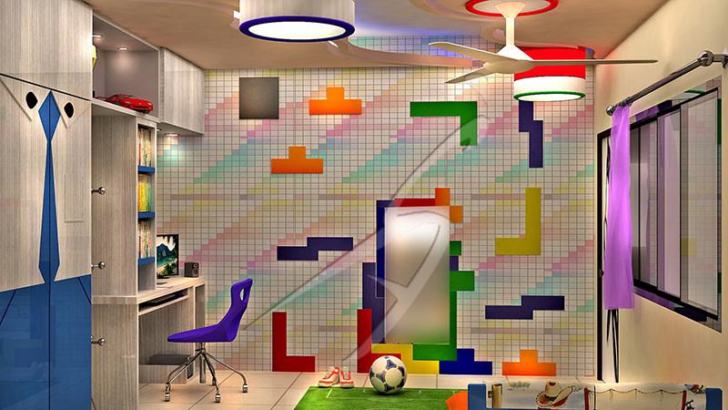 Kid's study room! by Pegasus Interiors  Indoor-spaces | Interior Design Photos & Ideas