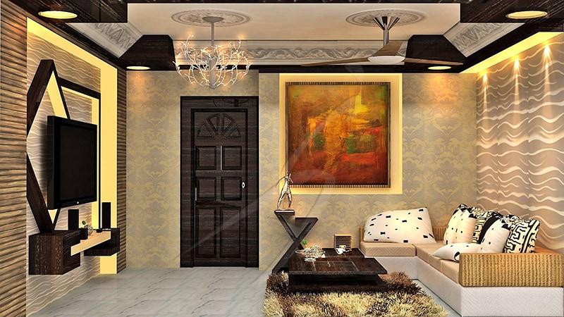 A rustic living room! by Pegasus Interiors  Living-room | Interior Design Photos & Ideas